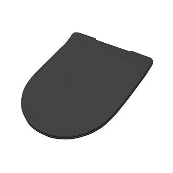 Artceram FILE 2.0 Сиденье для унитаза, супер тонкое, быстросьемное с микролифтом , цвет черный матовый