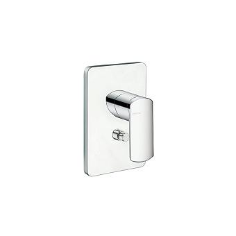 Cristina Profilo Смеситель для ванны/душа с переключателем на 2 выхода, встраиваемый, цвет: хром