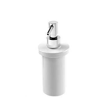Stella 130 Дозатор для мыла керамический, цвет: хром