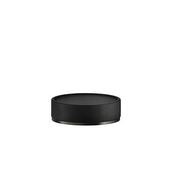 Gessi Inciso Мыльница настольная, цвет: черный/nero XL