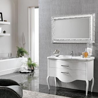 EBAN Sonia Комплект мебели 95 см c зеркалом Anastasia, цвет: bianco decape