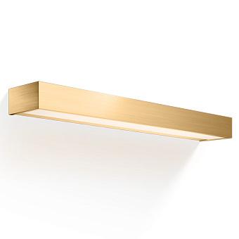 Decor Walther Box 60 N LED Светильник настенный 60x10x5см, светодиодный, 1x LED 32.8W, цвет: золото матовое
