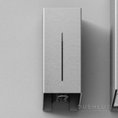 Agape Mach 2 Дозатор для жидкого мыла подвесной 40x17.1x12.3 см, цвет: сатин