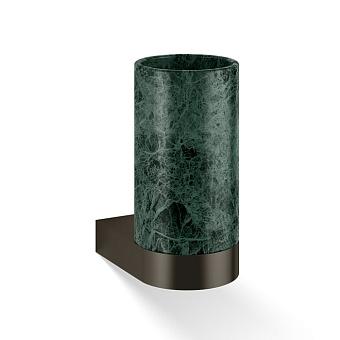 Decor Walther Century WMG Стакан подвесной, мраморный, цвет: marmo verde / темная бронза