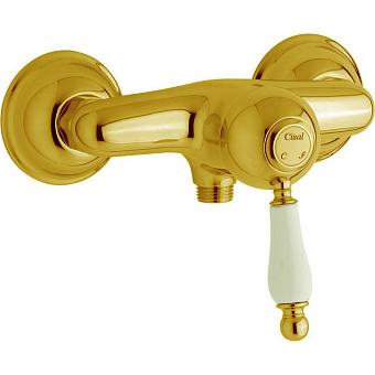 CISAL Arcana Empress Смеситель однорычажный настенный для душа, цвет золото