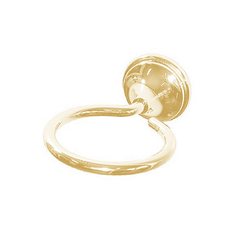 Bertocci Scacco Держатель стакана/мыльницы, подвесной, цвет: золото