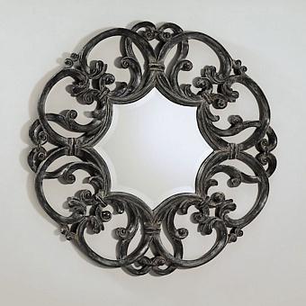 Devon&Devon Black Amelie Зеркало, цвет: черный/патина