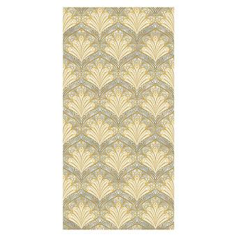 Devon&Devon Decor Slabs Керамогранит 120x240см, универсальная, глазурованнаный, декор: peacock dusty sage&gold