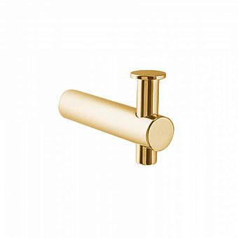Крючок Bongio T Mix, подвесной монтаж, цвет: золото 24к.