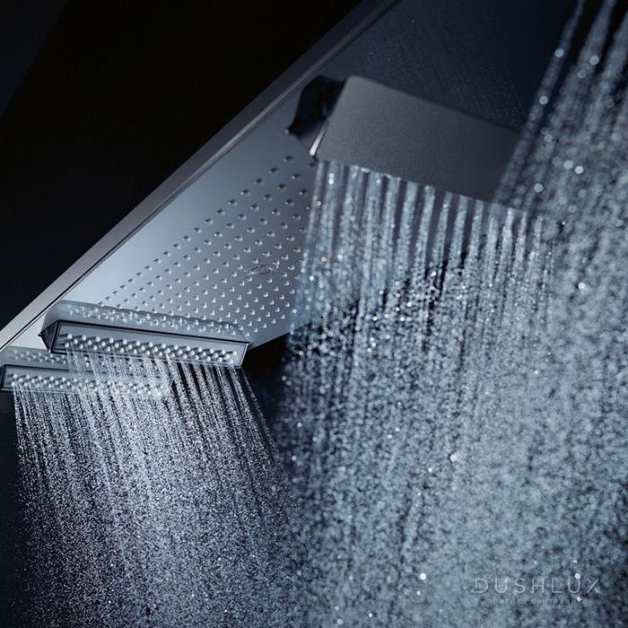 Axor Shower Heaven Душевая система с термостатом, ручным душем и подсветкой, цвет: хром