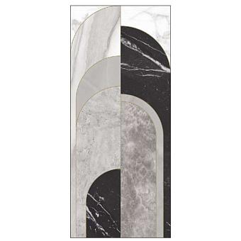 Ornamenta Operae Керамическая плитка 120х278см, настенная, декор: Beauty Grey