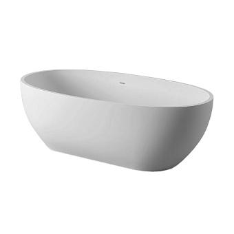 Artceram File 2.0 Ванна отдельностоящая из искусственного камня Livingtec 169х87х53 см, цвет: белый матовый