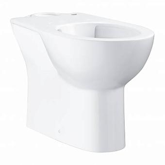 Grohe Bau Ceramic Унитаз 69x36 см, напольный, слив в пол, цвет: белый