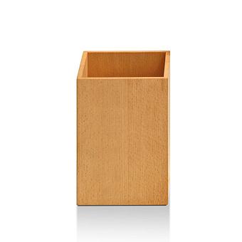 Decor Walther Wood PK Корзина для бумаги 18x18x25см, цвет: светлый бук