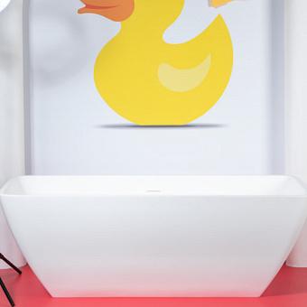 Artceram JAZZ  Ванна композитная 170х77х59 см, цвет белый глянцевый