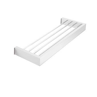 3SC SK Полочка-решетка 30х12,5хh3см, цвет: белый матовый