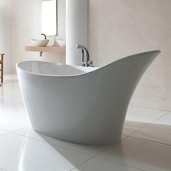 Victoria + Albert Amalfi Ванна 163х79хh86см, отдельностоящая, Quarrycast, цвет: белый матовый
