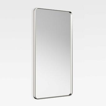 Armani Roca Baia Зеркало 60х5.5х110см с металлической рамкой, цвет: brushed steel