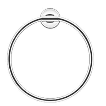 Duravit Starck T Полотенцедержатель - кольцо, подвесной, цвет: хром