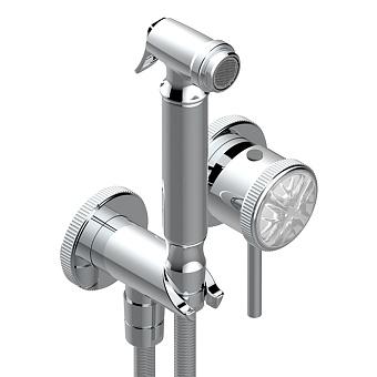 THG Hirondelles Гигиенический душ со встраиваемым смесителем, настенный, цвет: хром