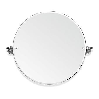 TW Harmony 023, вращающееся зеркало круглое 69х60см, цвет держателя: хром