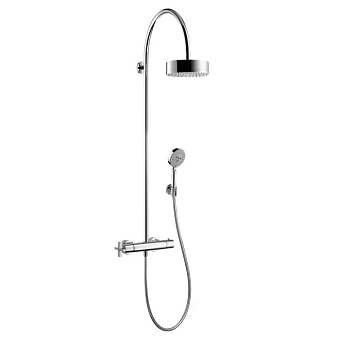 Axor Citterio Душевая система с термостатом и верхним душем, ½', цвет: хром