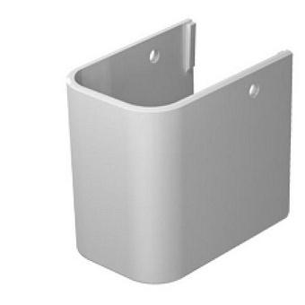 DURAVIT Happy D.2  Полупьедестал для раковины 21х31 см,  (231680,231665,231660), цвет: белый.