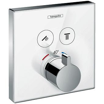 Hansgrohe ShowerSelect Смеситель для душа, встраиваемый, Цвет: белый/хром