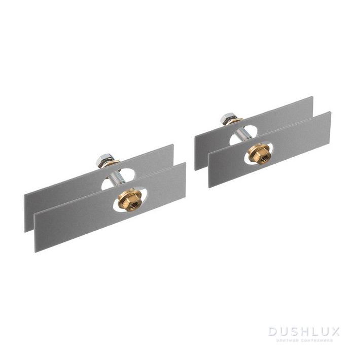 Axor Universal Комплект креплений для  двустороннего монтажа на стекле, цвет: хром