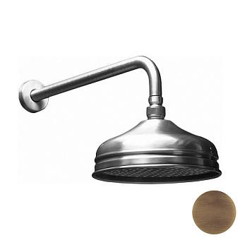 HUBER Shower Верхний душ D210 мм Easy Clean без держателя, цвет бронза