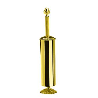 StilHaus Noto Напольный металлический ерш, цвет: золото