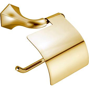 CISAL Cherie Бумагодержатель с крышкой, подвесной, цвет золото