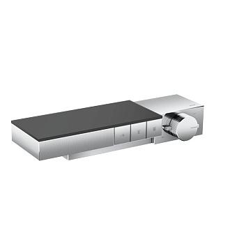Axor Edge Смеситель для душа, термостат, на 3 источника, алмазная огранка, цвет: хром