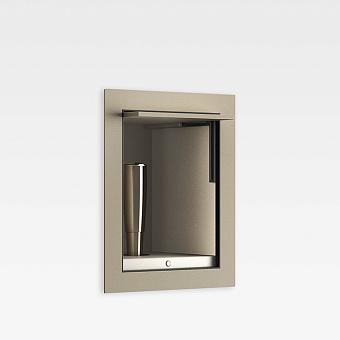 Armani Roca Island Комплект: Выдвижной гидроершик встроенный в шкафчик, шланг 1.4 м, цвет: greige