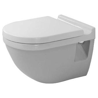 Duravit Starck 3 Комплект: унитаз подвесной  360х540 мм 220009 + сиденье с микролифтом: 006389 цвет: белый