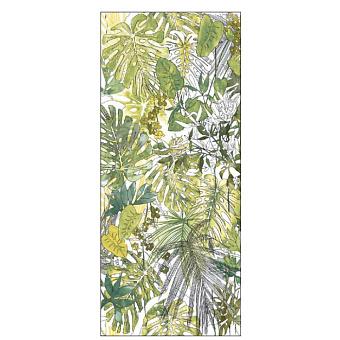 Ornamenta Operae Керамическая плитка 120х278см, настенная, декор: Flora Equatoriale Green