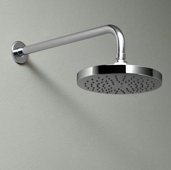 Zucchetti Simply Beautiful Верхний душ Ø 20см, настенный, 35см, цвет: хром