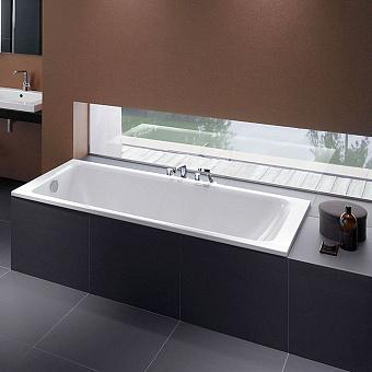 Bette Select Ванна 180х80х42 см, с шумоизоляцией, BetteGlasur® Plus, цвет: белый
