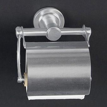 Cristal et Bronze Alliance Держатель туалетной бумаги с крышкой, цвет: никель