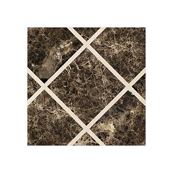 Devon&Devon Prestige Плитка из натурального камня 60x60см, универсальная, мрамор, prestige 1, цвет: emperador dark/crema marfil
