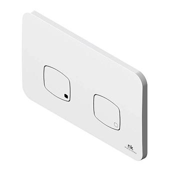 Noken NK Concept Двойная кнопка спуска, цвет: белый