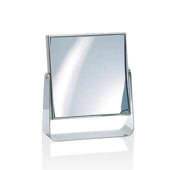 Decor Walther SPT 67 Косметическое зеркало 16.5x19см, настольное, увел. 7x, цвет: хром