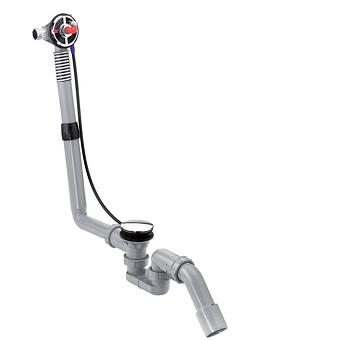 Hansgrohe Exafill S Скрытая часть излива на ванну с набором для слива и перелива для стандартных ванн