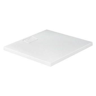 Duravit  Stonetto Поддон композитный квадратный  900x900х50mm, d90, цвет белый