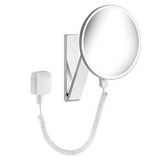 Keuco iLook_move Зеркало косметическое с подсветкой круглое