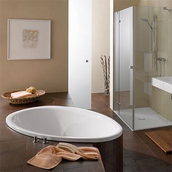 Bette Pool Ванна 164х96х45 см, овальная, BetteGlasur® Plus, цвет: белый