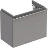 Geberit iCon Тумба с раковиной 52х42х30.8см, с одним выдвижным ящиком, цвет: цвет: платиновый