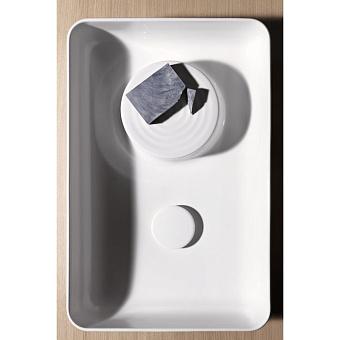 Laufen VAL Раковина-чаша 55х36х12.5 см, без отв., с покр. LLC, цвет: белый