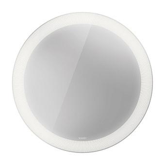 Duravit Happy D.2 Plus Зеркало с подсветкой radial, круглое 90x90x4.7см, сенсорное управление