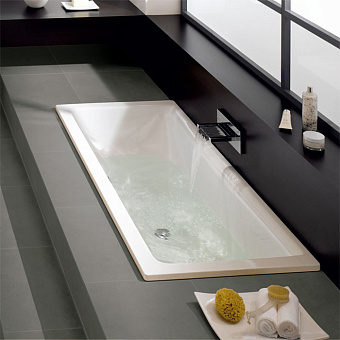 Bette Free Ванна 200х100х45 см, с шумоизоляцией, цвет: белый